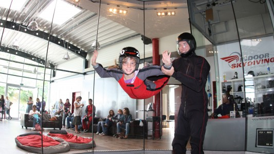 Indoor-Skydiving in Bottrop
