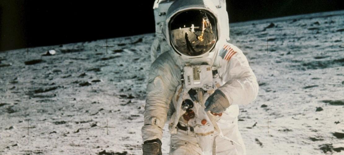 Der erste Mann auf dem Mond