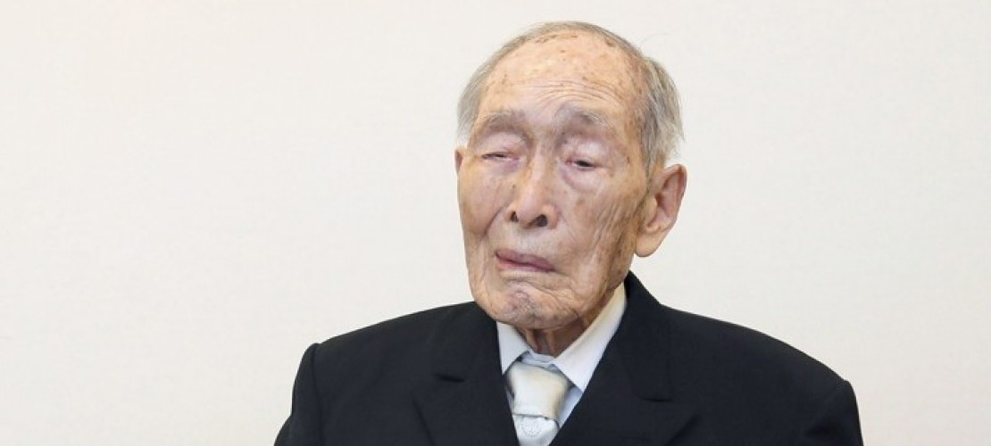 Ältester Mann der Welt ist 111