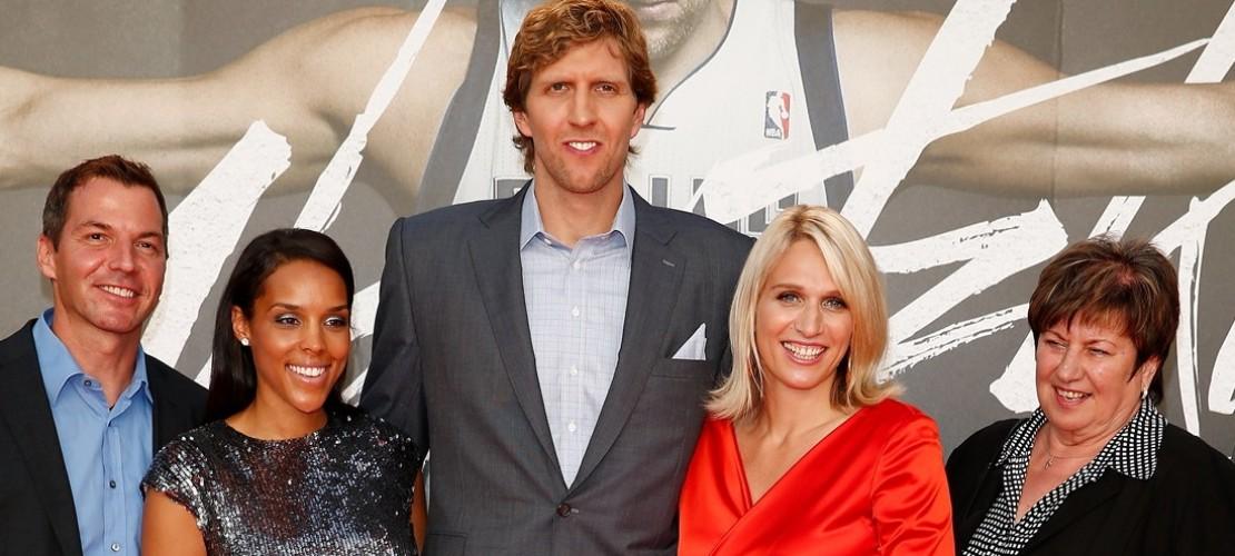 Dirk und seine Familie bei der Weltpremiere in Köln