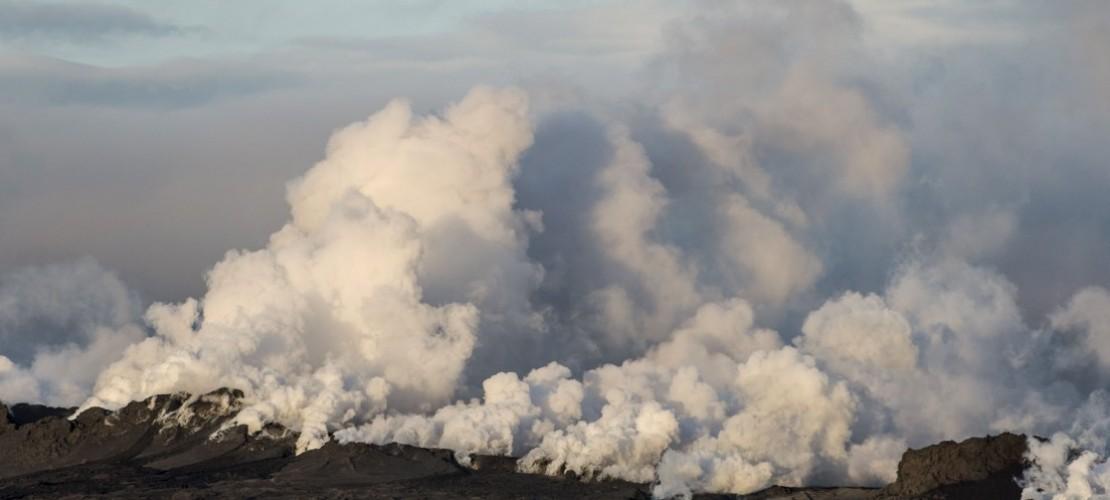 Vulkan ausgebrochen