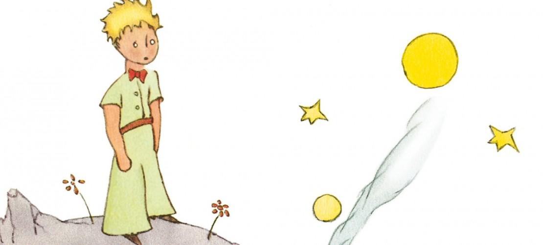 Der kleine Prinz hat viele Planeten kennengelernt. Wie sähe dein fremder Planet aus? (Bild: Verlag)