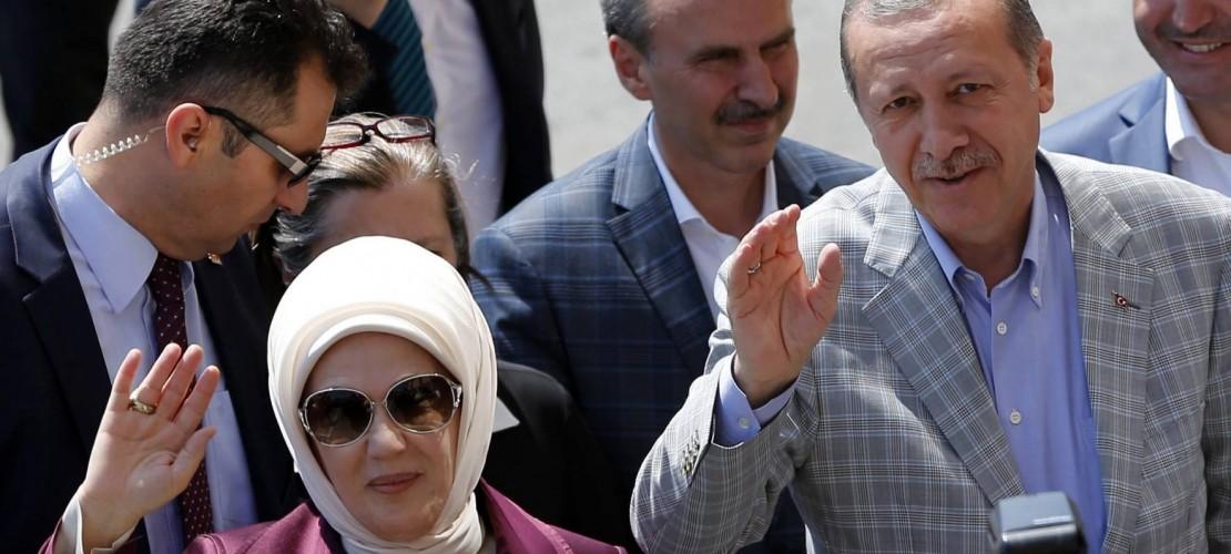 Der neue Präsident der Türkei