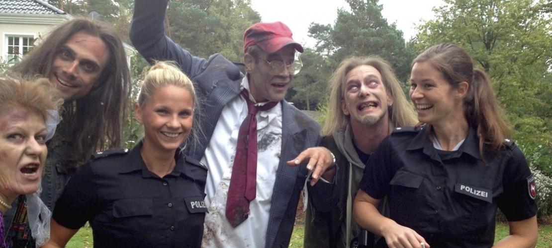 Polizei trifft Zombies