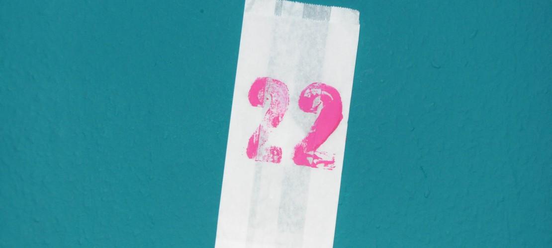Zweiundzwanzigstes Türchen