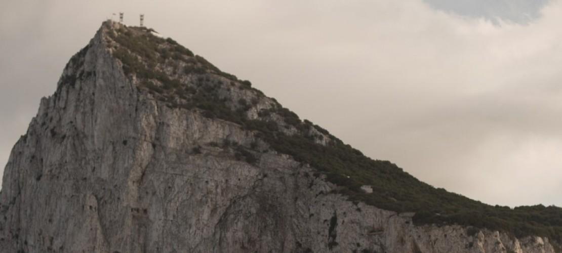 Gibraltar, ein Felsen im Meer