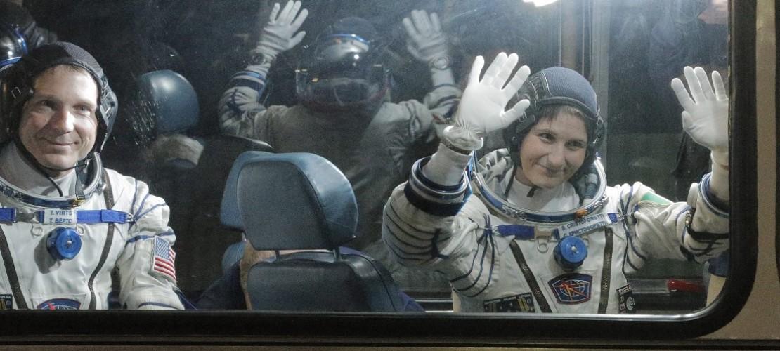 Neue Bewohner auf der ISS