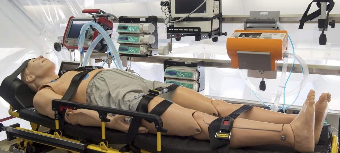 Mini-Krankenhaus in der Luft