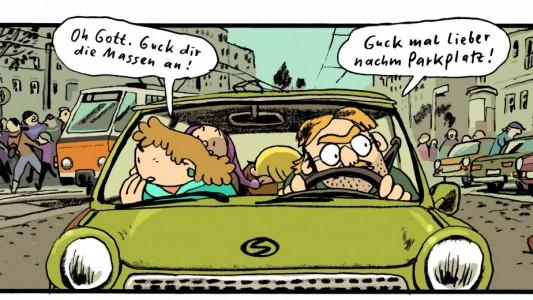 """Kindheit mit Mauer: Der Comic """"Kinderland"""""""