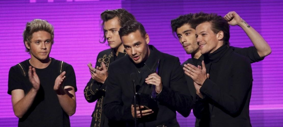 Drei Trophäen für One Direction