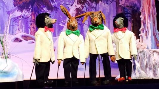 Weihnachten im Theater