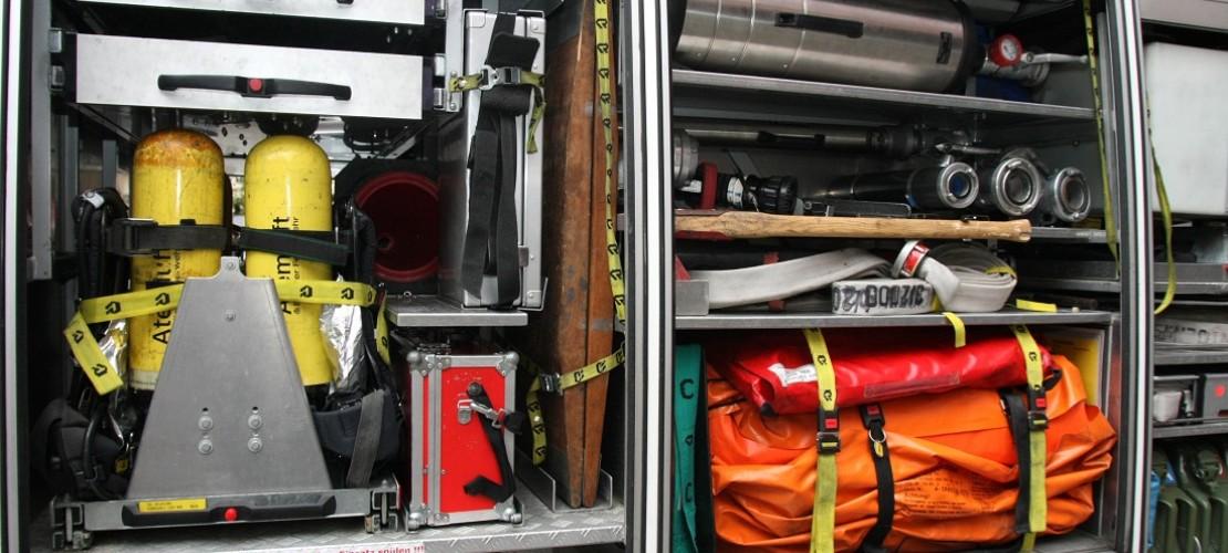 Was in ein Feuerwehrauto passt