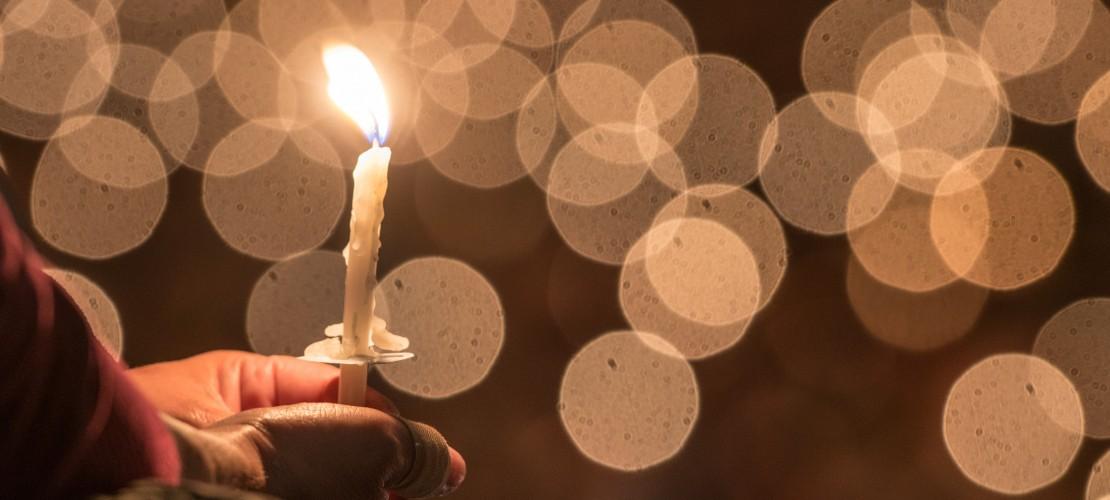 Warum brennt eine Kerze?