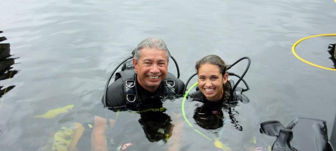 73 Tage unter Wasser leben