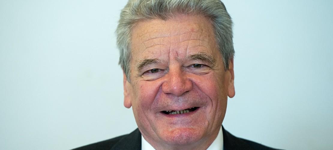 Joachim Gauck feiert seinen 75. Geburtstag