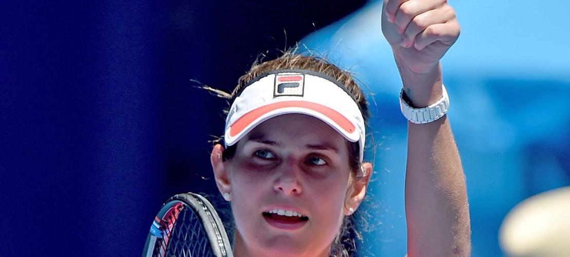 Julia Görges ist bei den Australien Open im Achtelfinale