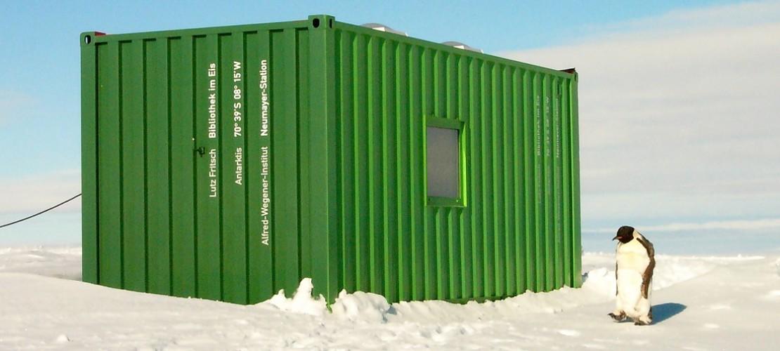 Bücher ausleihen am Südpol