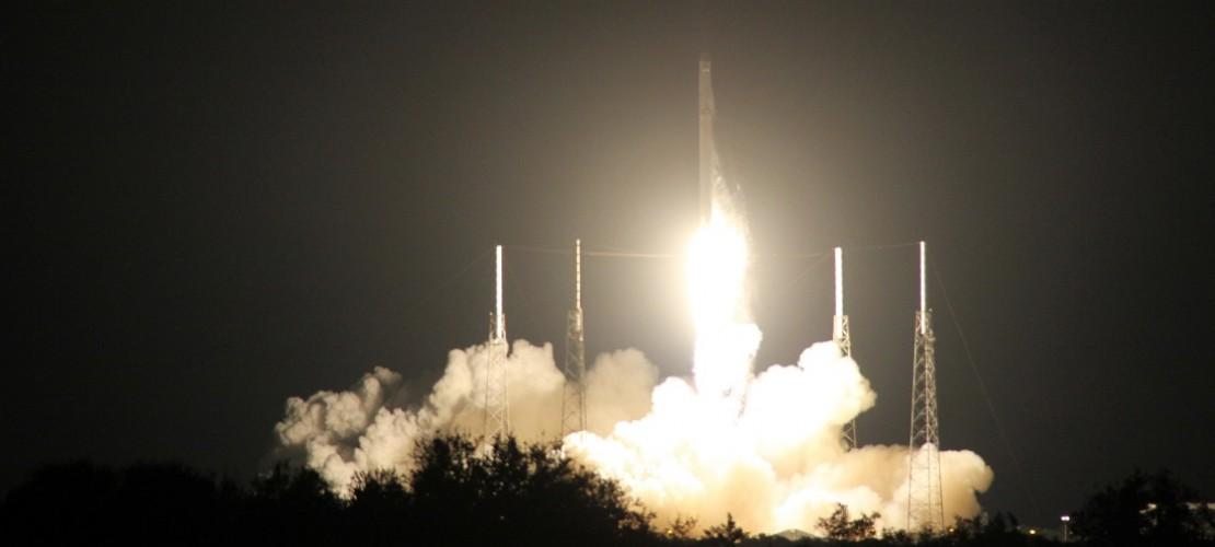 Der Schrott von Raketen