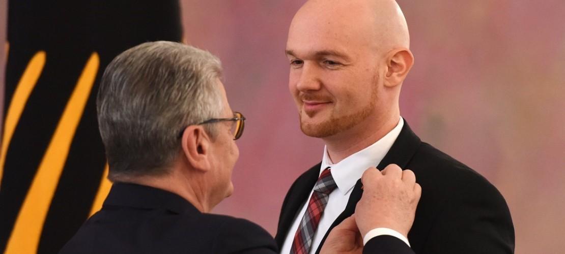 Alexander Gerst bekommt das Bundesverdienstkreuz