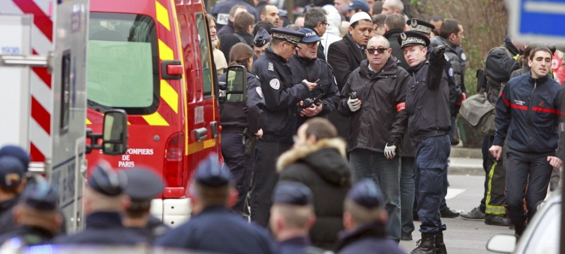 Schlimmer Anschlag in Paris
