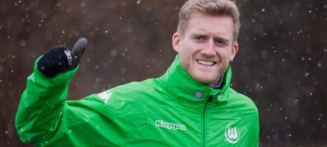 André Schürrle spielt jetzt für den VfL Wolfsburg. (Foto: dpa)