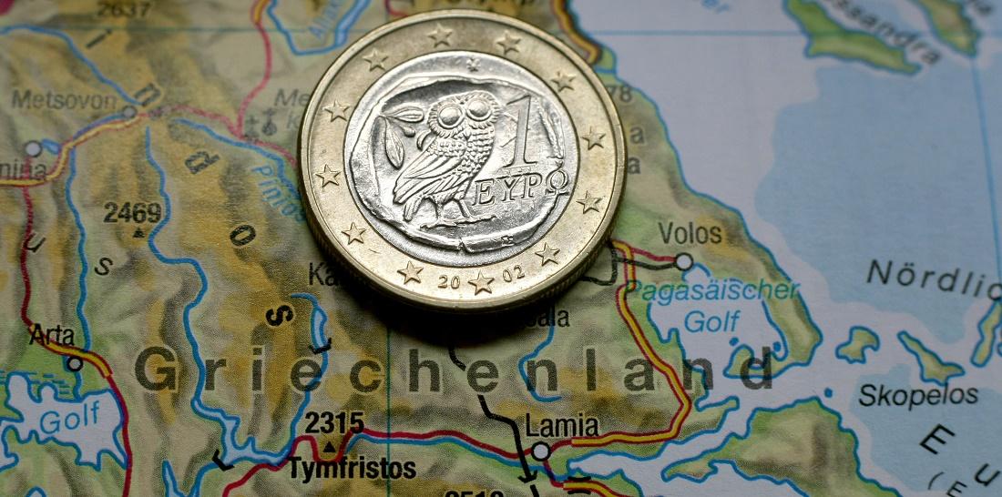 Das Land Griechenland hat sich von anderen Ländern Geld geliehen. (Foto: dpa)