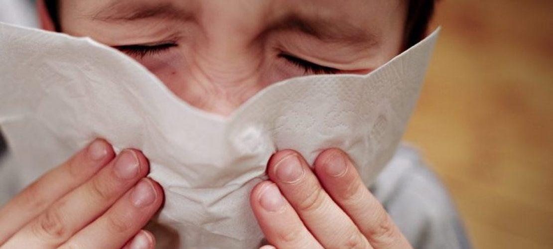 Hatschi! Viele Menschen haben derzeit eine Erkältung oder eine Grippe. (Foto: dpa)