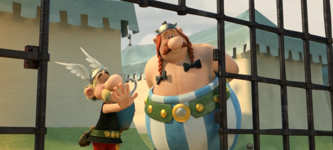 Sind wieder auf der Kinoleinwand zu sehen: Asterix und Obelix. (Foto: dpa)