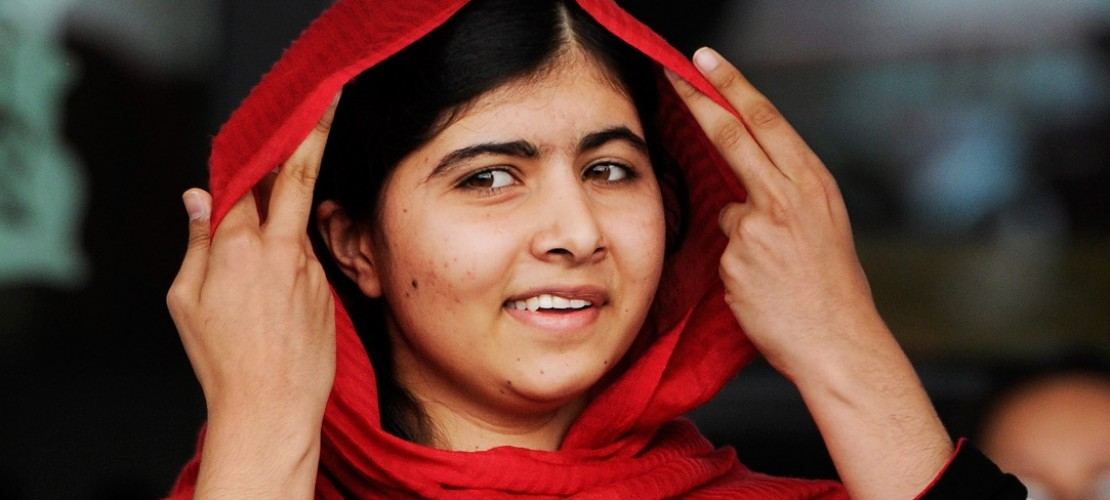 Dieses Mädchen bewundern viele: die 17-jährige Malala. (Foto: dpa)