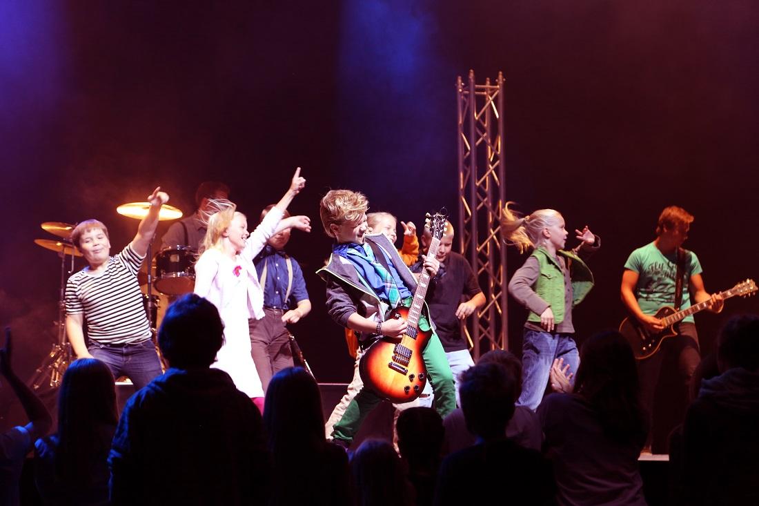 Pekka auf der Bühne. (Foto: Verleih)