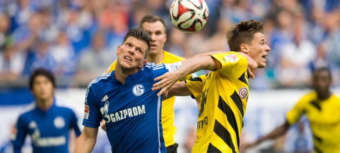Die Rivalen Borussia Dortmund und FC Schalke 04 treffen in der Bundesliga aufeinander. (Foto: dpa)