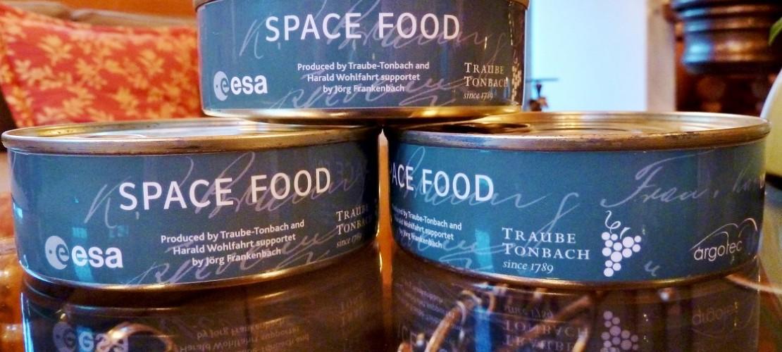 Was essen die Astronauten im Weltraum?