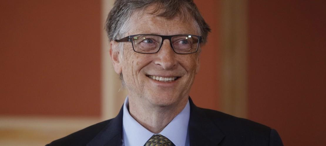Das ist Bill Gates. Er gilt als der reichste Mann der Welt. (Foto: dpa)