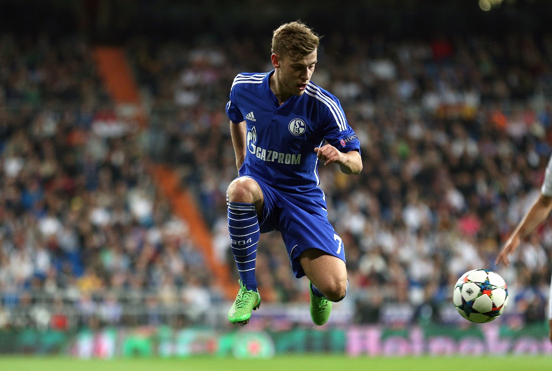 Max Meyer hat auch schon in der Champions League gespielt. Das ist ein Wettbewerb für die besten Vereine Europas. (Foto: dpa)