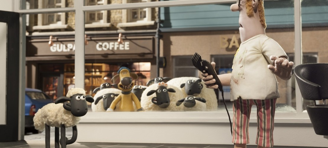 Schaun das Schaf und seine Freunde erobern die Großstadt. (Foto: dpa)