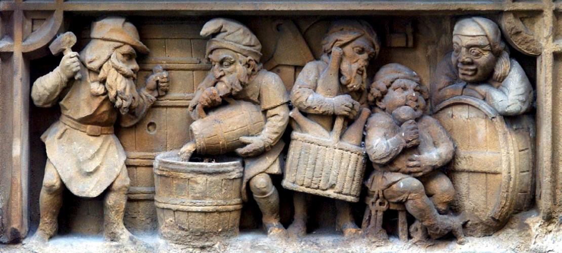 Auch der Heinzelmännchen-Brunnen in Köln steht unter Denkmalschutz. (Foto: dpa)