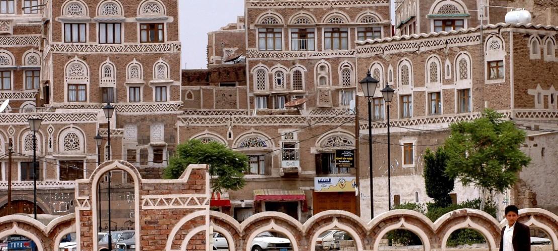 Die Altstadt von Sanaa ist berühmt für ihre schönen Häuser. (Foto: dpa)