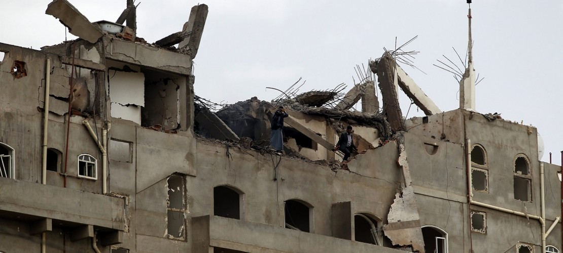 Viele Gebäude im Jemen sind wegen der Kämpfe zerstört. (Foto: dpa)