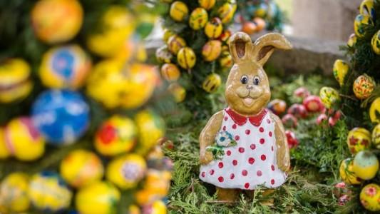 Bei den Christen gehören Eier schon seit langer Zeit zu Ostern. Und wie kommt der Osterhase ins Spiel? (Foto : dpa)