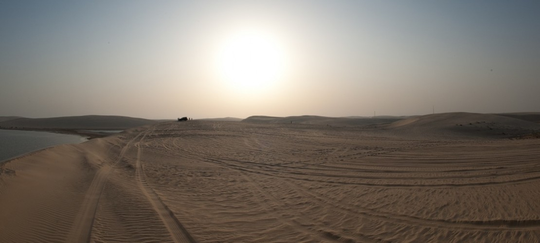Alle Wüsten zusammen bedecken etwa ein Fünftel der Landfläche der Erde. Aber sie bestehen nicht immer immer hauptsächlich aus Sand. (Foto: dpa)