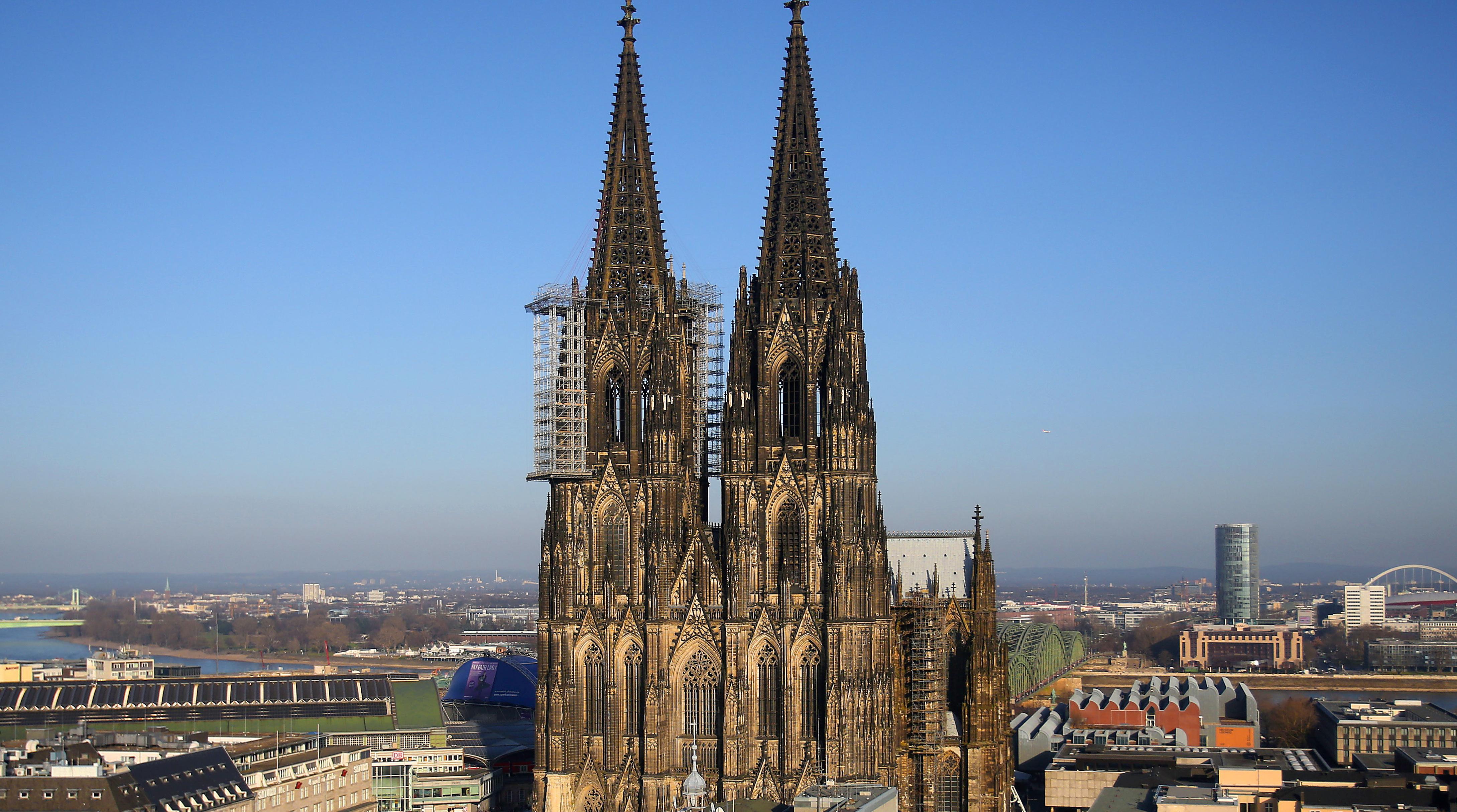 Eines der berühmtesten Denkmäler in Deutschland ist der Kölner Dom. (Foto: dpa)