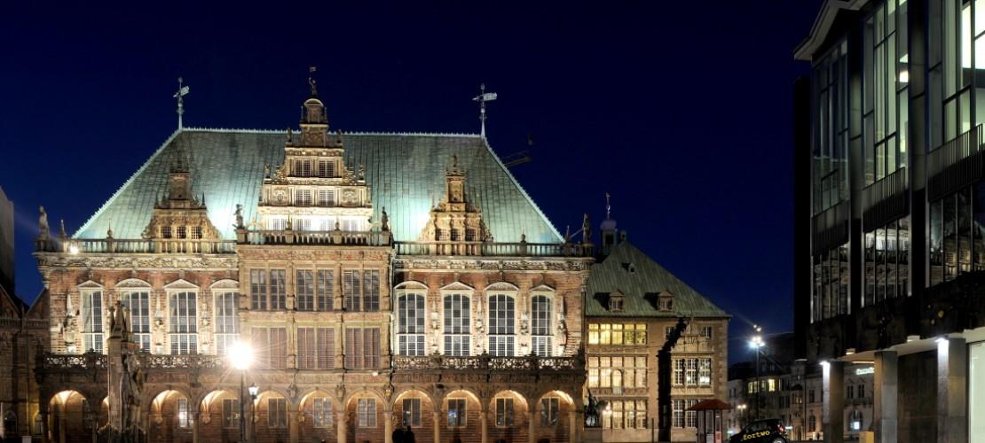 Das ist das Rathaus in Bremen. (Foto: dpa)