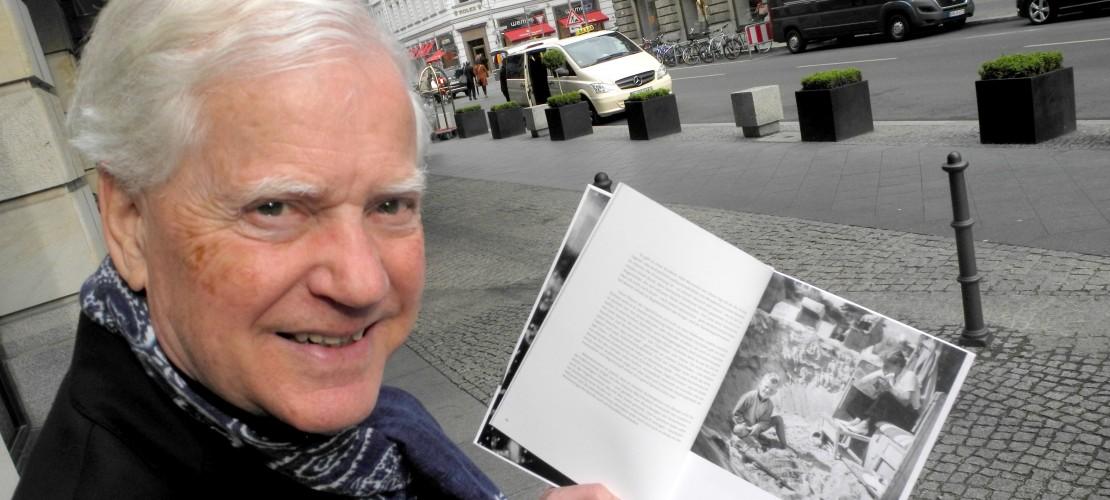 Das ist Eckhard Schimpf. Er erinnert sich an den Zweiten Weltkrieg. Als dieser zu Ende ging war er sechs Jahre alt. (Foto: dpa)
