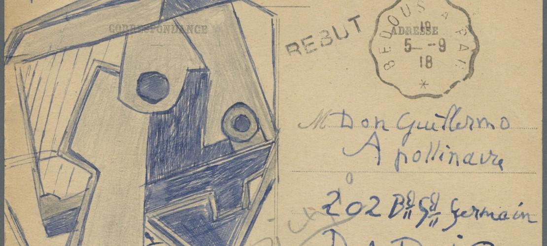 Eine Postkarte von Pablo Picasso