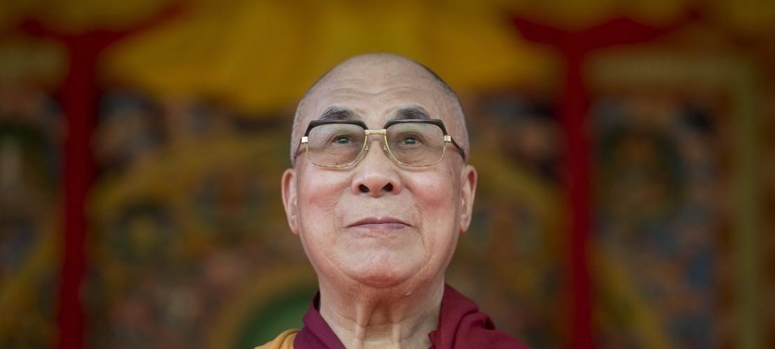 Herzlichen Glückwunsch, Dalai Lama! Das Oberhaupt der Tibeter wird 80 Jahre alt. (Foto: dpa)