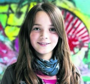 Kinderreporterin Fine (Foto: Goyert)