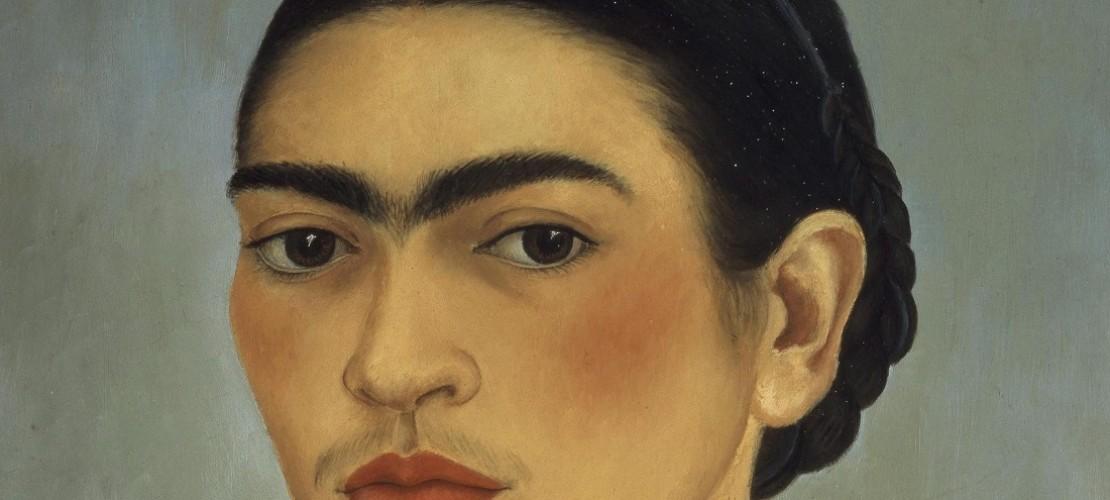 Das gesamte Werk von Frida Kahlo ist recht klein. Weniger als 200 Bilder soll die Künstlerin bis zu ihrem Tod gemalt haben. Auf vielen davon hat sie sich selbst dargestellt. (Foto: dpa)