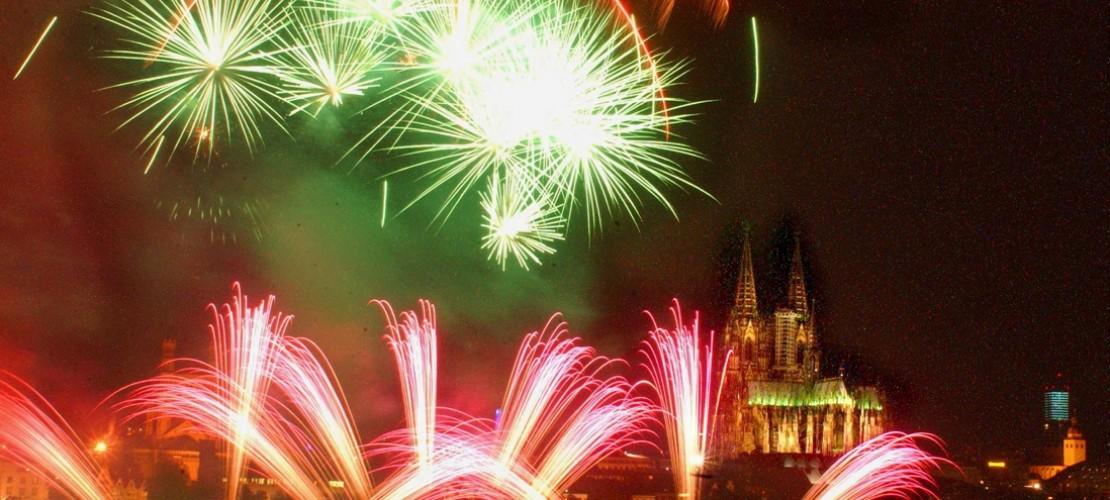 Am Samstag, den 11. Juli, finden wieder die Kölner Lichter statt. (Foto: Rakoczy)