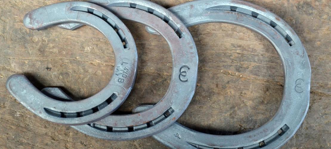 Der Schmied hat Eisen in verschiedenen Größen. (Foto: dpa)