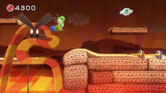 """Sieht aus wie gehäkelt: Yoshis eigenes Abenteuer heißt """"Yoshis Woolly World"""